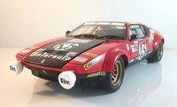 De Tomaso Pantera GT4 1975 Le Mans GTS Class #43 in 1:18 Scale Diecast by Kyosho