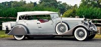 1930 Phantom II 25EX Sports Phaeton Whittingham & Mitchel Model Car in 1:43 Scale by Ilario