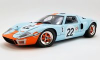 #22 1969 FORD GT40 MKI Sebring 12 Hrs Champion in 1:12 Scale by Acme