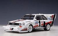 AUDI QUATTRO S1 PIKES PEAK WINNER 1987 W.ROEHRL #1 in 1:18 scale by AUTOart