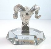 1980 Dodge Hood Ornament Paperweight