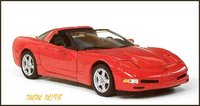 1997 Corvette Coupe in 1:24 Scale by The Franklin Mint Diecast Model