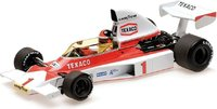 1975 McLaren Ford M23 Emerson Fittipaldi in 1:18 Scale by Minichamps
