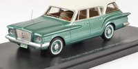 1960 Plymouth Valiant Station Wagon Resin Model in 1:43 Scale by Neo