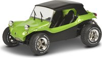 Meyers Manx Buggy Lime Green w/ black top in 1:18 scale by Solido