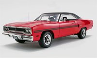 1970 Plymouth GTX The Mod Squad Diecast Model by GMP in 1:18 Scale