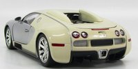 2009 Bugatti Veyron Edition Centenaire in Chrome/Beige Diecast Model Car in 1:18 Scale by Minichamps