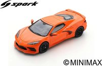Chevrolet Corvette C8 2020 in 1:43 scale by Spark