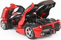Ferrari LaFerrari High End Diecast Model in Rossa Corsa in 1:18 Scale by BBR