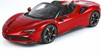 Ferrari SF90 Spider Racing Red 322 in 1:18 scale by BBR