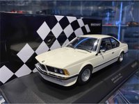 1982 BMW 635 CSI White in 1:18 Scale by Minichamps