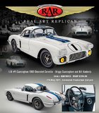 1960 Chevrolet Corvette - 24 Hours of Le Mans 1960 #1 Cunningham/Kimberley in 1:18 by RAR