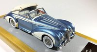 1948 Delahaye 175S Cabriolet Chapron sn815014 Resin Model Car in 1:43 Scale by Ilario
