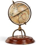 Terrestrial Globe With Compass by Authentic Models