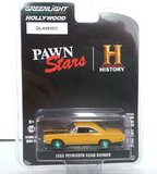1969 Plymouth Road Runner Pawn Stars TV Series (GREEN WHEELS) in 1:64 scale by Greenlight
