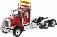 International HX520 Day Cab Tandem Tractor Red in 1:50 scale by Diecast Masters