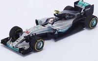 Lewis Hamilton Mercedes F1 Winner Monaco Grand Prix 2016 in 1:18 Scale by Spark