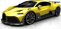 Bugatti Divo by MR Collection in Yellow Fine Model in 1:18 Scale