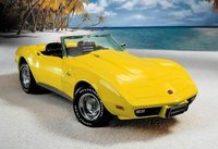 1975 Corvette Diecast Model in Yellow