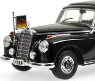 1955 Mercedes-Benz 300 B (W186 III) - Konrad Adenaur Model Car in 1:43 Scale by Minichamps