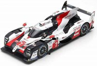 Toyota TS050 Hybrid No. 7, Le Mans 2019 in 1:18 Scale by Spark
