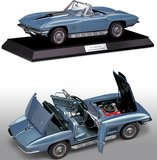 1967 Corvette L88 in Marina Blue in 1:12 Scale by The Franklin Mint