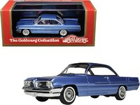 1961 Pontiac Catalina Twilight Mist Blue Metallic in 1:43 scale by Goldvarg