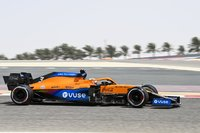 McLaren MCL35M No.3 7th Bahrain GP 2021 Daniel Ricciardo in 1:43 scale by Spark