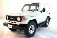 Toyota Landcruiser BJ70 White 1984-89  Resin in 1:18 Scale by Cult Models
