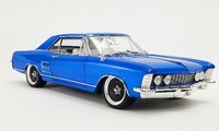 1964 BUICK RIVIERA CRUISER SOUTHERN KINGS CUSTOMS Blue in 1:18 scale by Acme