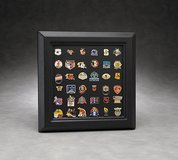Lapel Pin Display Frame: Black