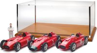 Ferrari D50 Fangio 3 car collectors set in 1:18 Scale by CMC
