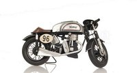 1952 Norton Manx 1:8 Metal Handmade Scaled Model in 1:8 Scale by Old Modern Handicrafts