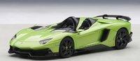 Lamborghini Aventador J in Green Model Car in 1:43 Scale by AUTOart