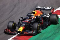 Red Bull Racing Honda No.33 Max Verstappen in 1:43 scale by Spark
