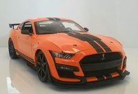 2020 Ford Shelby GT500 in Orange in 1:18 scale by Maisto