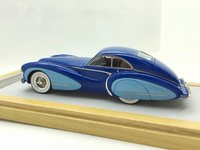1948 Talbot Lago T26 Coupe Grand Sport Saoutchik Resin Model Car in 1:43 Scale by Ilario