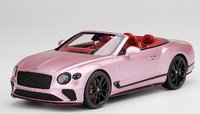 Bentley Continental GT Convertible Passion Pink in 1:18 scale by Topspeed