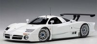 1998 Nissan R390 GT1 Lemans in White Diecast in 1:18 Scale by AUTOart