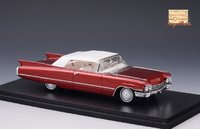 1960 Cadillac Series 62 Convertible Closed top in 1:43 Scale by Stamp