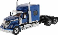 International Lonestar Sleeper Cab Truck Tractor Blue in 1:50 scale by Diecast Masters