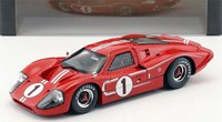 1967 Ford GT40 Mk IV at Le Mans #1 in 1:18 Scale by Shelby Collectibles