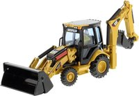 Cat® 432E Backhoe Loader in 1:50 scale by Diecast Masters