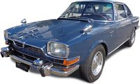 BMW Glas 3000 V8 Blue Resin Model in 1:18 Scale by Schuco
