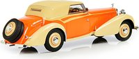 1934 Hispano Suiza J12 Cabriolet (closed) by Vanvooren in 1:43 scale by Esval