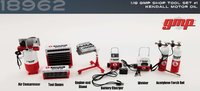 SHOP TOOL SET #1 KENDALL MOTOR OIL in 1:18 scale by GMP
