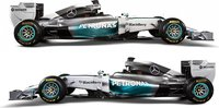 2014 Mercedes Amg Petronas F1 Team W05 - Nico Rosberg Diecast Model Car in 1:43 Scale by Minichamps