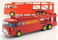 Fiat Bartoletti 306/2 Ferrari JCB 1970 Transporter Diecast in 1:18 Scale by Norev