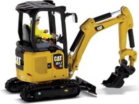 Cat® 301.7 CR Mini Hydraulic Excavator Next Generation in 1:50 scale by Diecast Masters