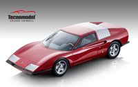 1968 Ferrari P6 Pininfarina in Red in 1:18 Scale by Tecnomodel